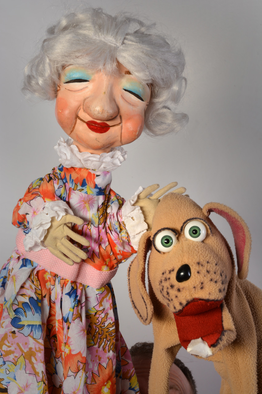 "Guest Artist Mesner Puppet Theater presents: ""Old Mother Hubbard & Her Dog"""